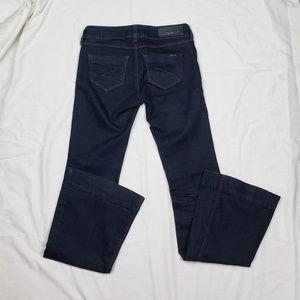 Seven 7 Dark Wash Flair Jeans